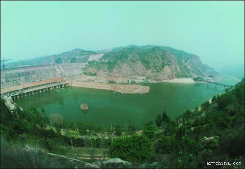 三门峡大坝风景区(资料图)